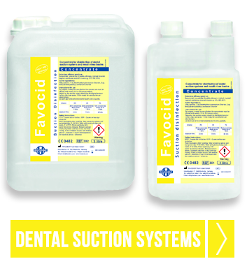 Dental suction systems