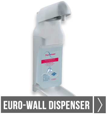 Euro-wall dispenser